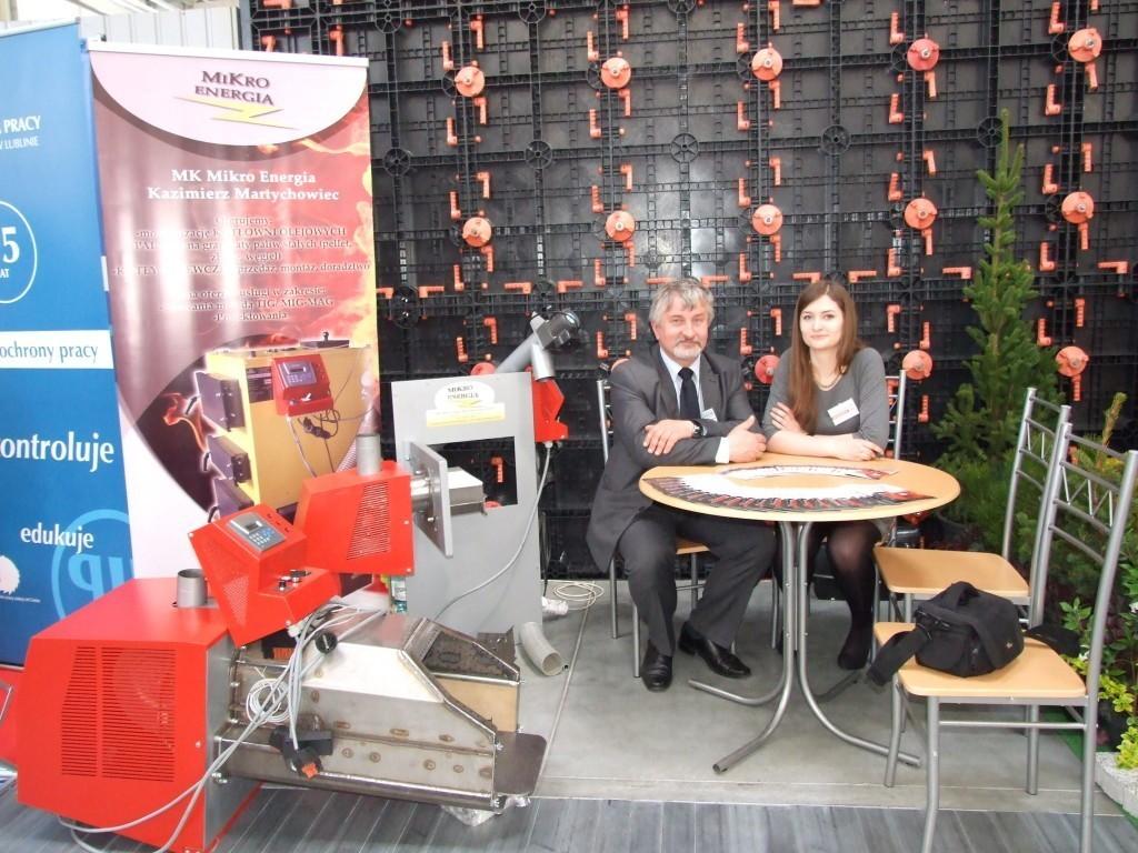 MK Mikro Energia wystawcą na Targach Budowlanych LUBDOM